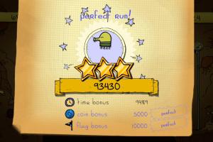 Doodle Jump for Kinect Screenshot
