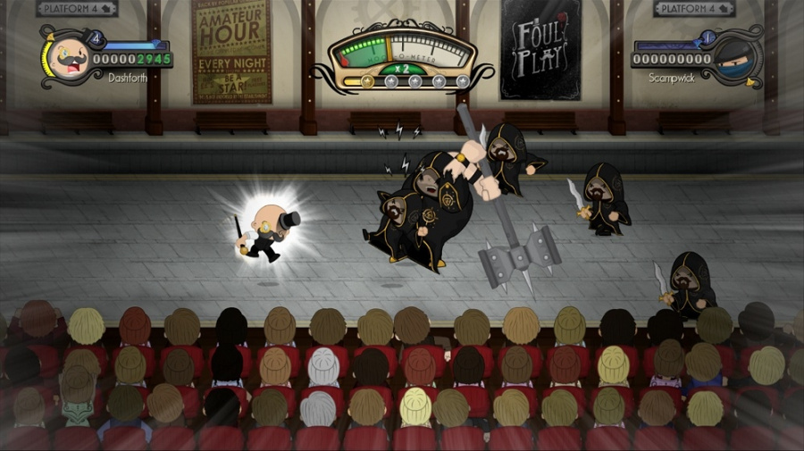 Foul Play Review - Screenshot 1 of 3