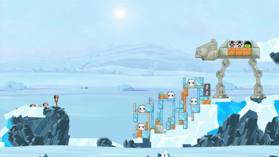 Angry Birds: Star Wars Review - Screenshot 1 of 4