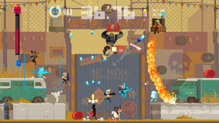 Super Time Force Review - Screenshot 1 of 5
