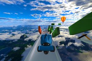 Jet Car Stunts Screenshot