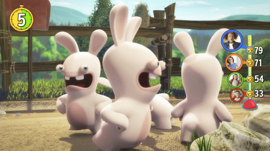 Rabbids Invasion: The Interactive TV Show Review - Screenshot 1 of 2