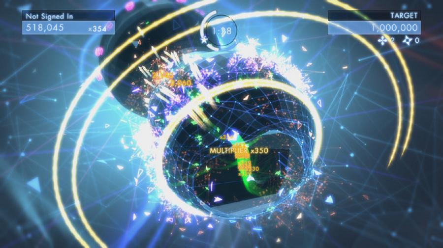 Geometry Wars 3: Dimensions Review - Screenshot 1 of 6
