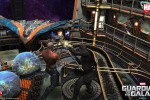 Pinball FX2 - Guardians of the Galaxy Screenshot