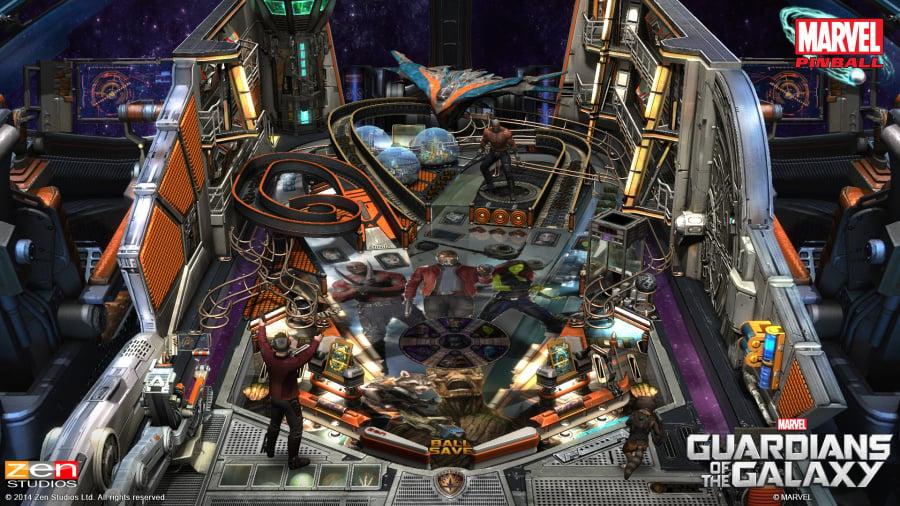 Pinball FX2 - Guardians of the Galaxy Review - Screenshot 1 of 3