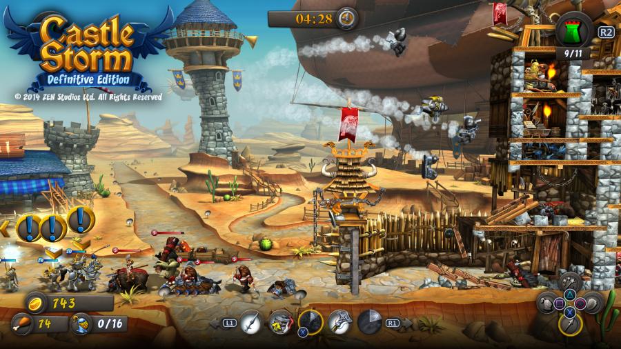 CastleStorm - Definitive Edition Review - Screenshot 1 of 3