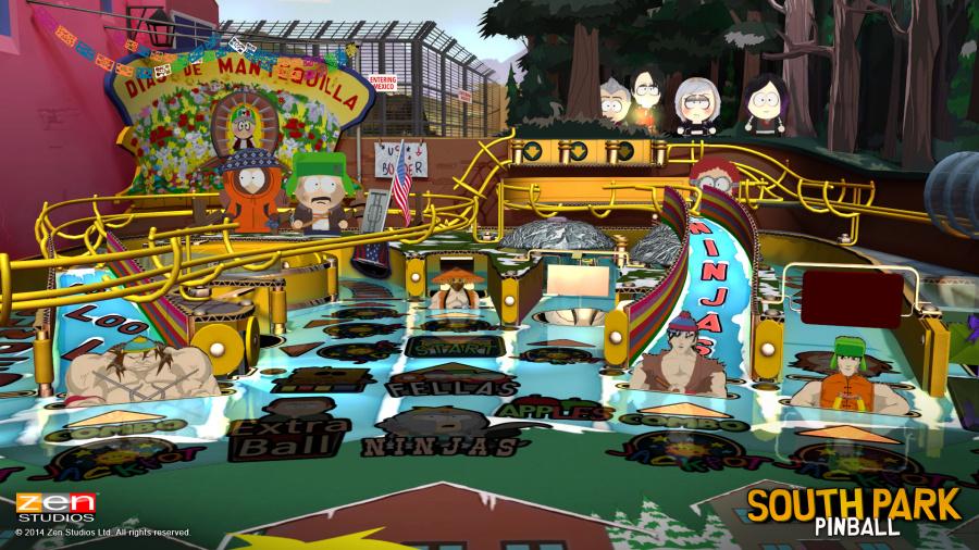 Pinball FX2 - South Park Review - Screenshot 1 of 3