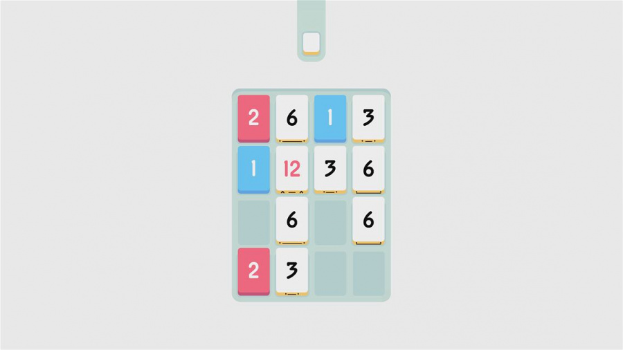 Threes! Review - Screenshot 1 of 3