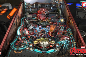 Pinball FX2 - Marvel's Avengers: Age of Ultron Screenshot