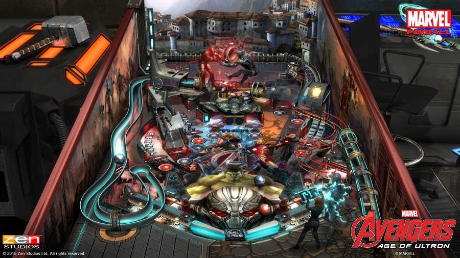 Pinball FX2 - Marvel's Avengers: Age of Ultron Review - Screenshot 1 of 3
