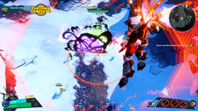2 K Battleborn Caldarius Ariel Assault