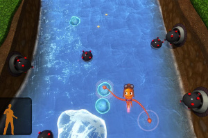Squid Hero for Kinect Screenshot