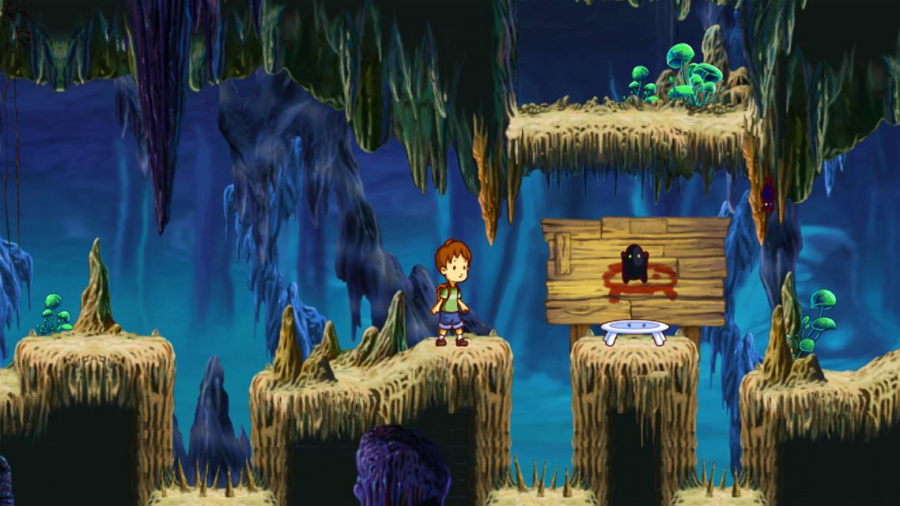 A Boy and His Blob Review - Screenshot 1 of 4
