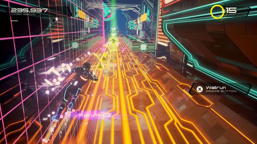 TRON RUN/r Review - Screenshot 1 of 4