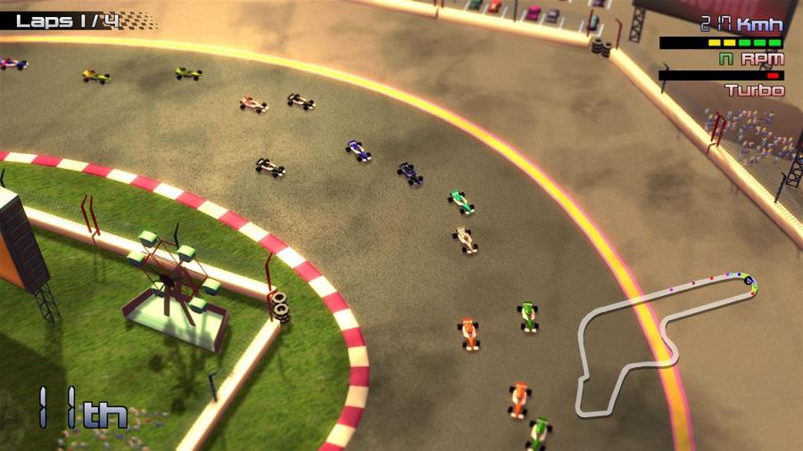 Grand Prix Rock 'N Racing Review - Screenshot 1 of 4