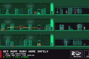 Not a Hero: Super Snazzy Edition Screenshot